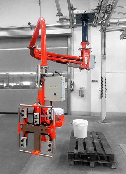 吊顶式-硬臂机械手