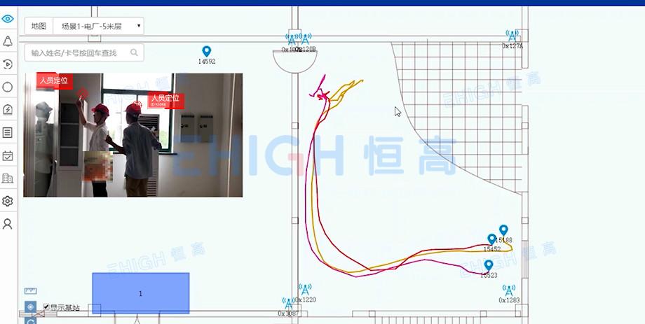 变电站人员定位,提升厂区安全管控能力
