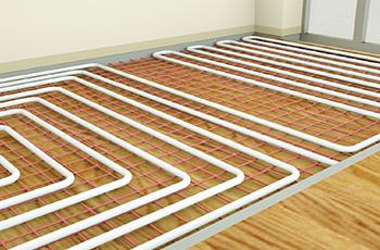 地暖常見的布管鋪設方式
