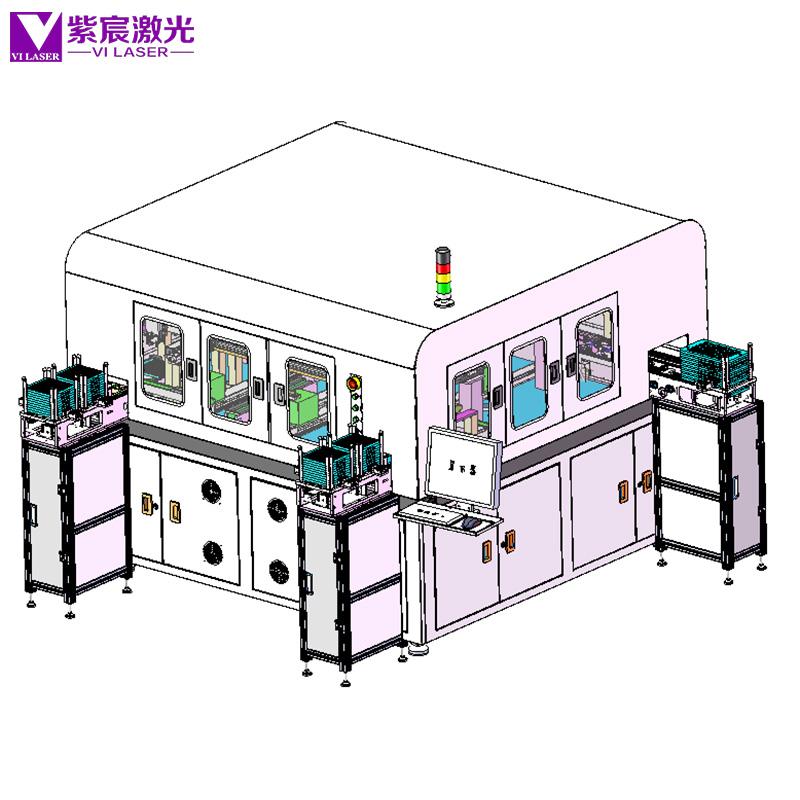 通讯模块自动组装激光焊锡设备