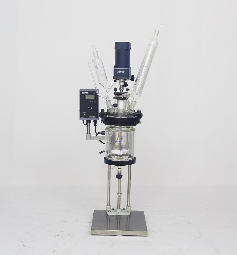 小型开盖式夹层玻璃反应釜FC302