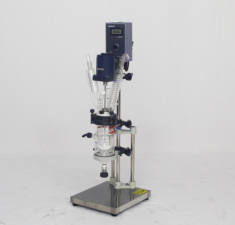 小型开盖式夹层玻璃反应釜FC0202