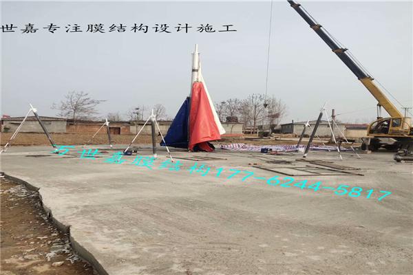 湖北景观膜结构工程施工