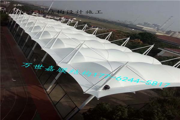 运动场地膜结构遮阳雨棚