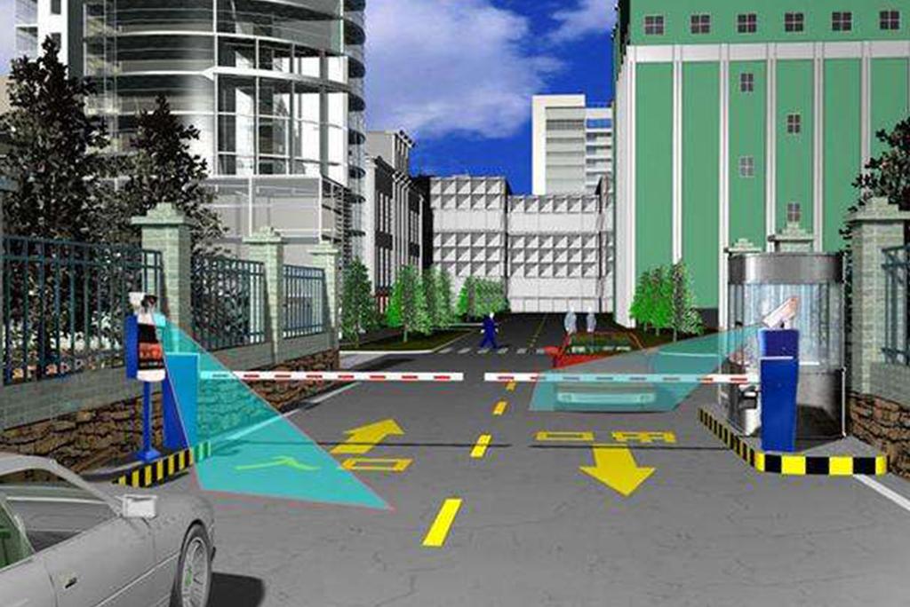 无人值守车牌识别系统,停车场管理系统