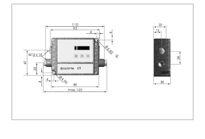 电子盒尺寸