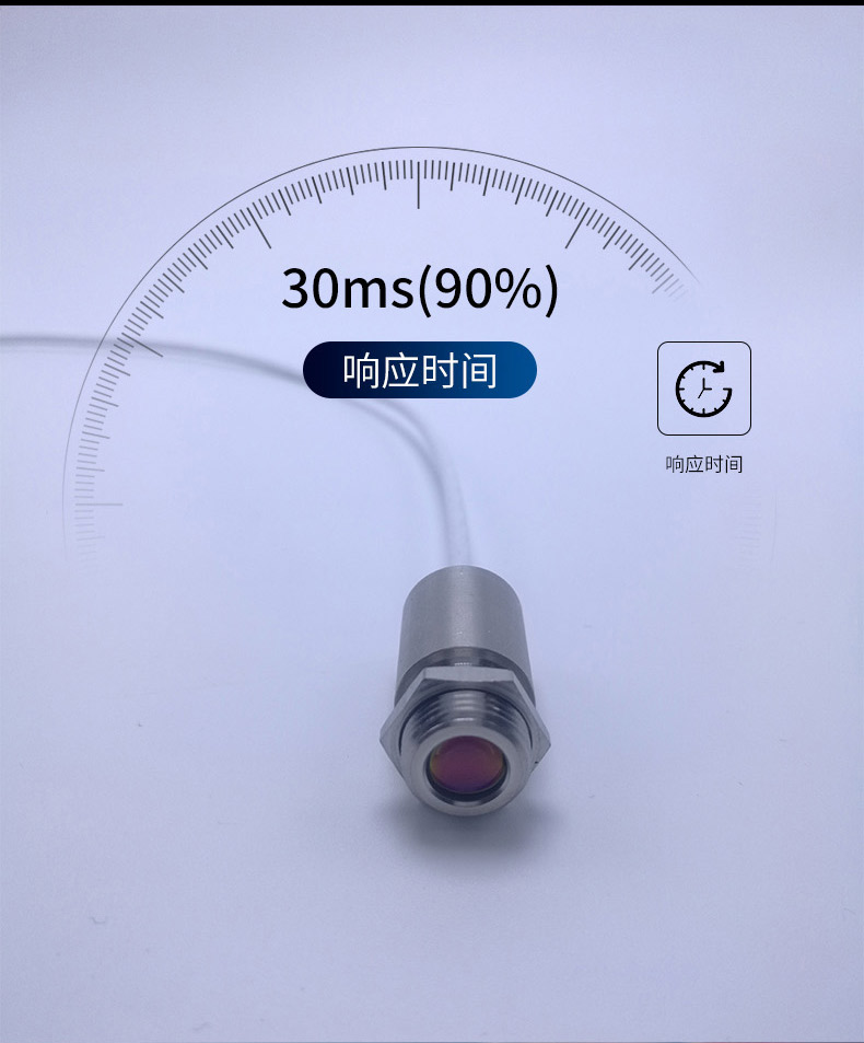 测温仪响应时间