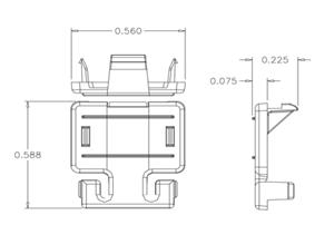 XceleratorTM防尘盖设计