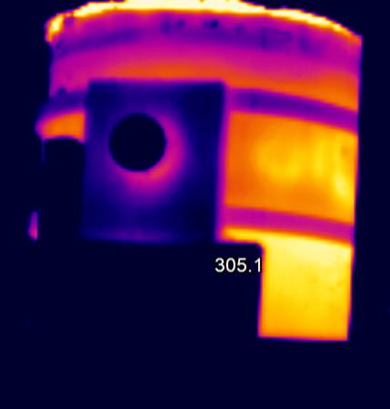红外热像仪监控系统在钢铁安全生产上的应用