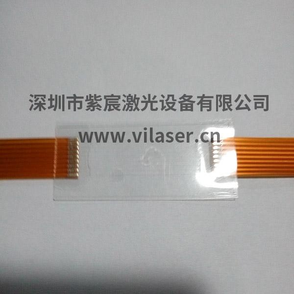 FPC透明线路板激光焊接效果
