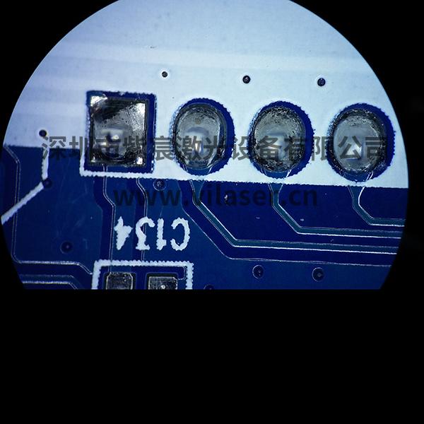通孔插针PCB焊接效果