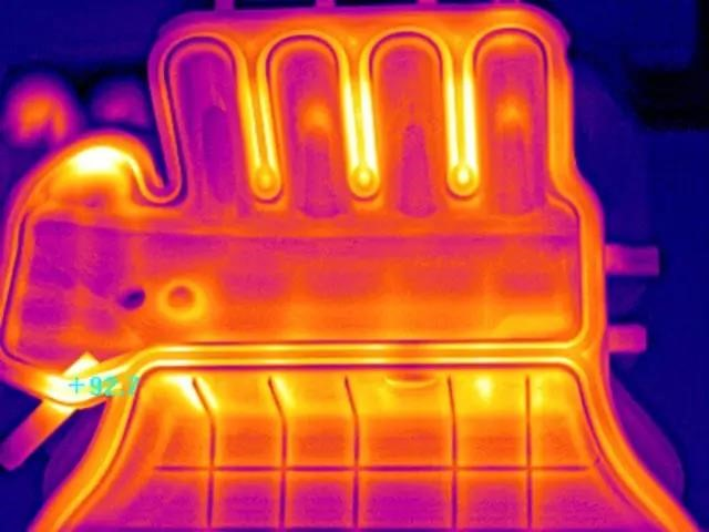 红外热成像唯美图片—--呈现在工业及民用中的解决方案