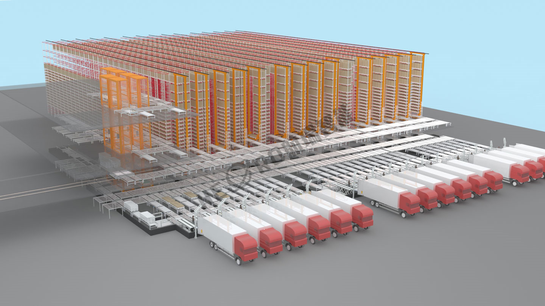 好莱客家具自动仓储系统