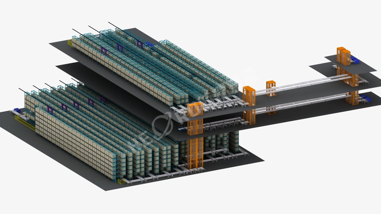 比亚迪电池自动仓储系统