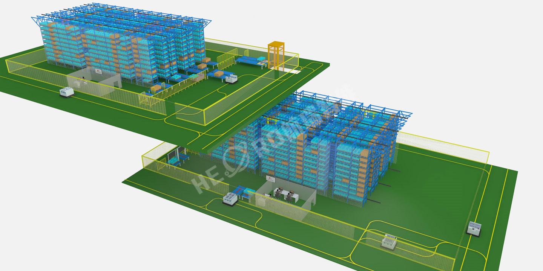 星联精密机械(模具)自动仓储系统