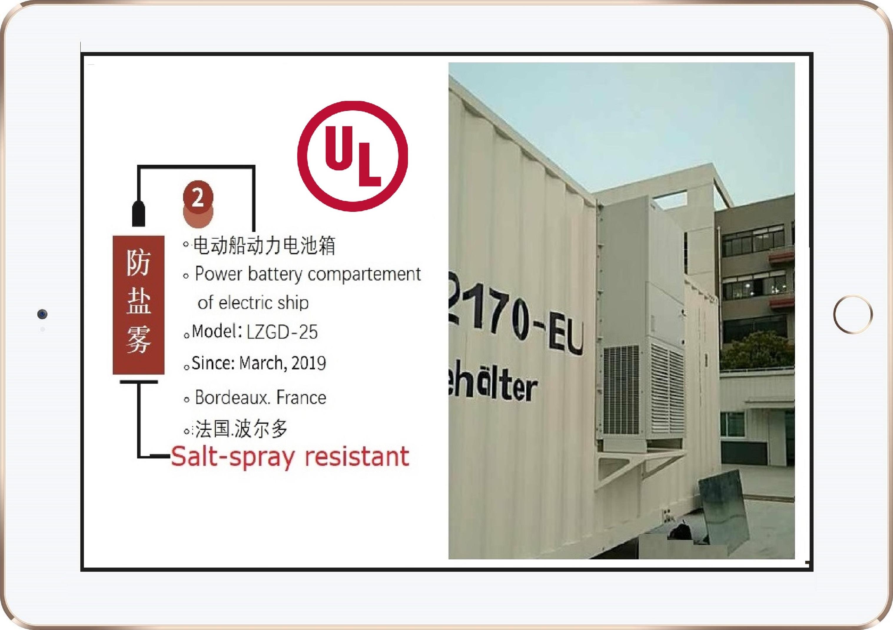 UL全外挂一体集装箱空调