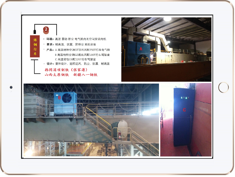 炼钢厂-高温特种空调一体机