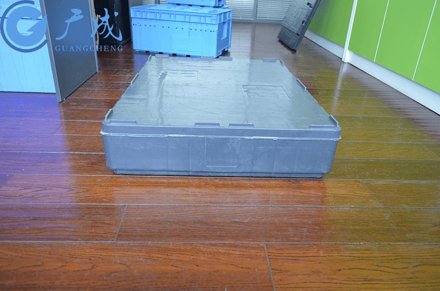 德系定制8060平板川字塑料托盤側面