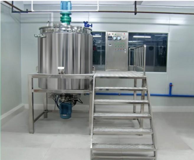 液体洗剂洗护产品搅拌生产设备