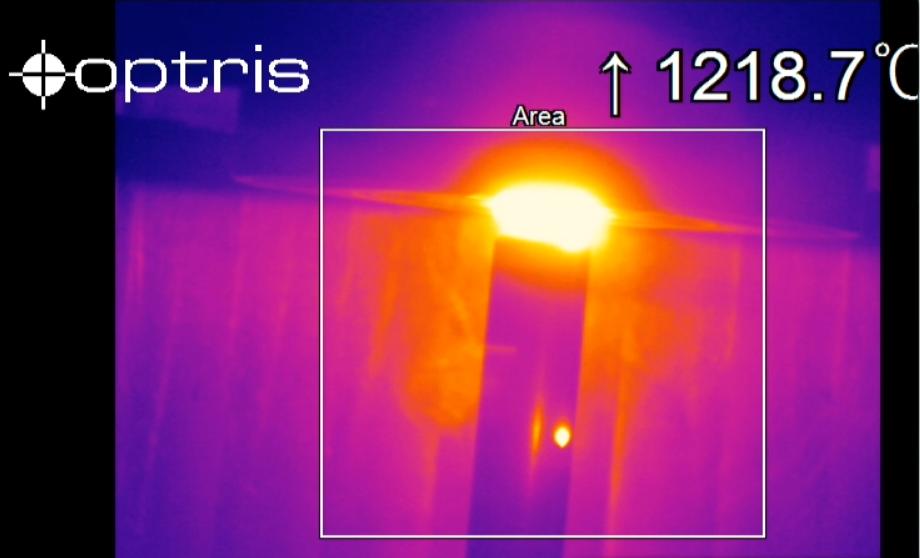 Optris红外热像仪在金属摩擦焊接行业的测温应用