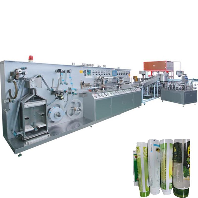 塑料复合软管制管机