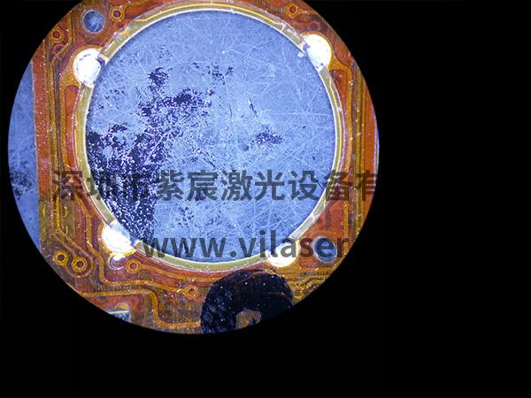 FPC材质的VCM焊接效果