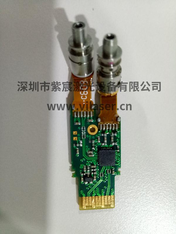 激光10G模块FPC与PCBA焊接效果