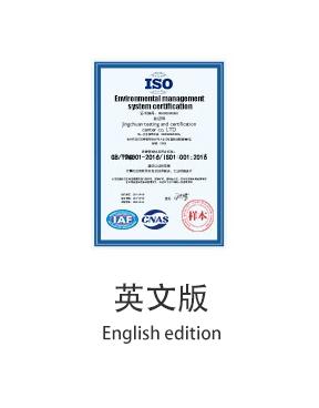 信息技术服务管理体系认证英文版