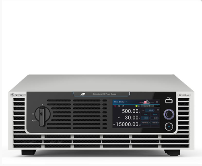 双向可程控直流电源供应器 Chroma62000D