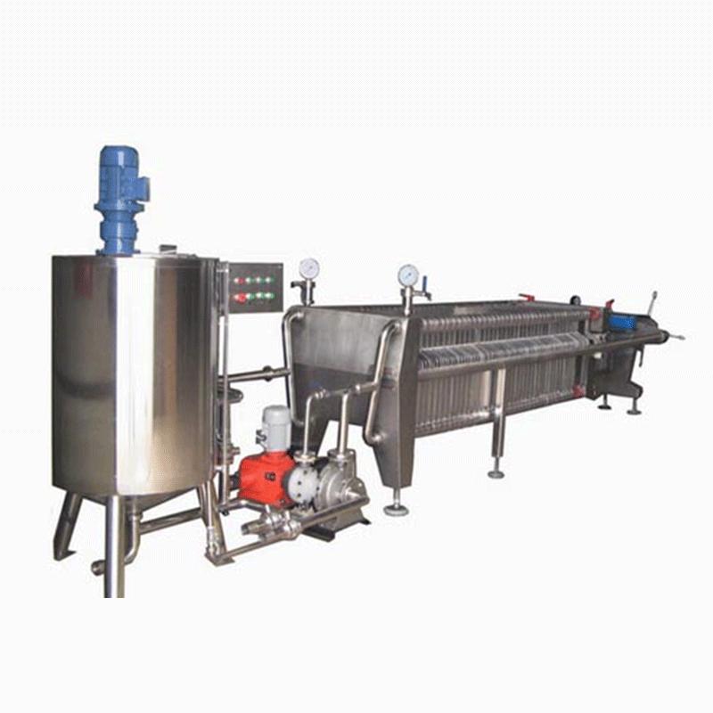 400X400系列硅藻土板框式过滤机