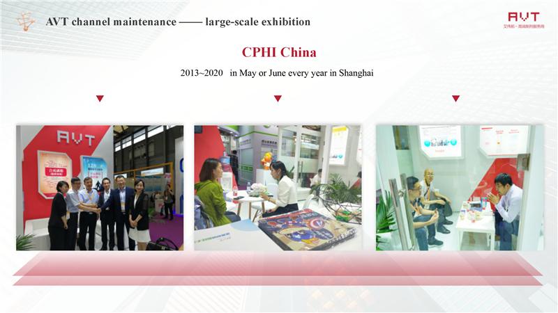 AVT channel maintenance —— large-scale exhibition