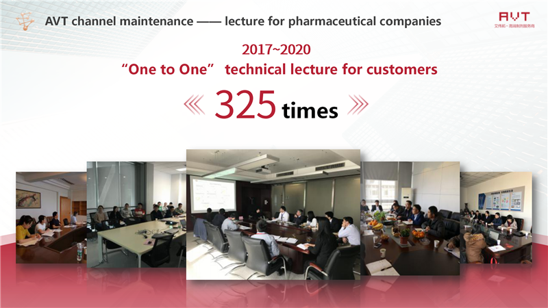 AVT channel maintenance —— lecture for pharmaceutical companies