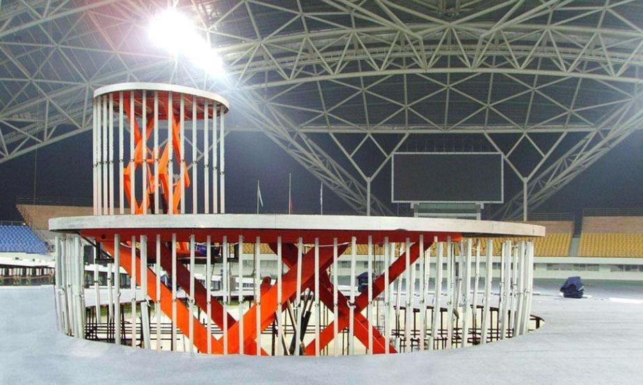舞台升降机设计中安全性能的考虑