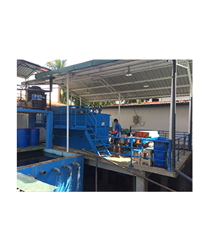 South America dyeing factory-Dyeing wastewater