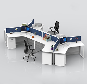 屏风办公桌员工位-DA-01