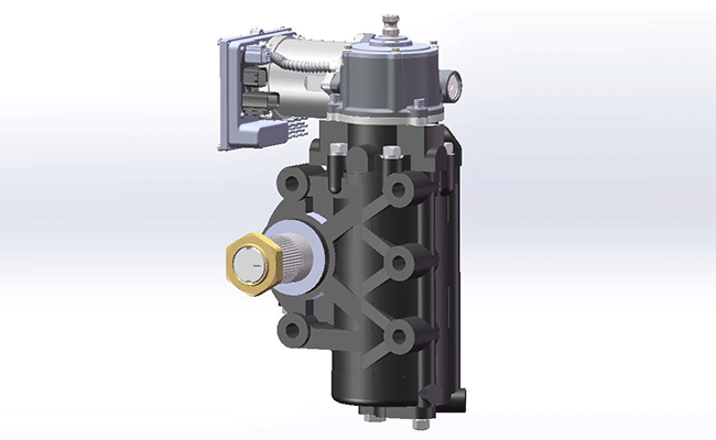 电液混合助力转向器