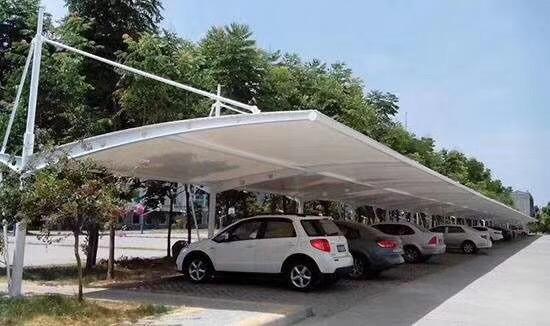 公交车充电站膜结构