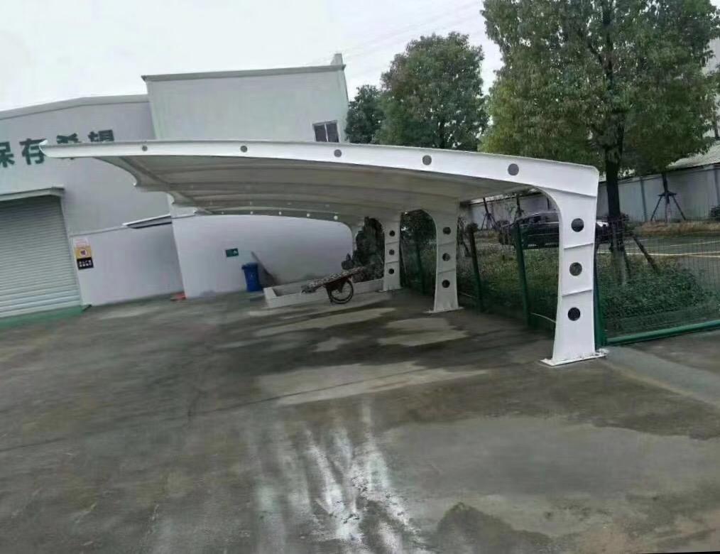 高层小区膜结构车棚