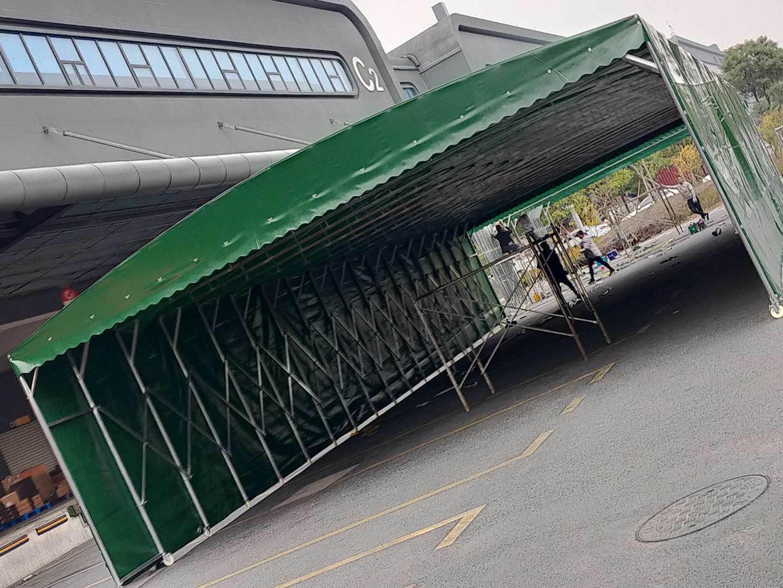 推拉式遮雨棚
