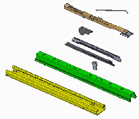 Seat rail parts
