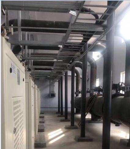 新疆某污水处理厂新建项目-新晴旷空气悬浮鼓风机