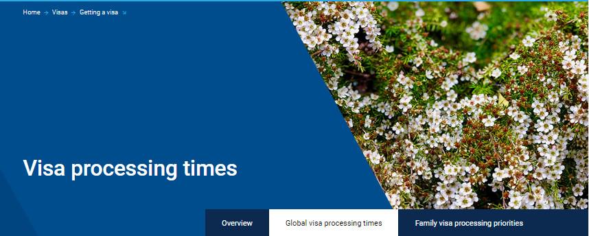 4月签证审理时间公布-澳洲移民律所