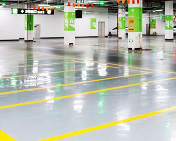 停车场划线是如何设计的?