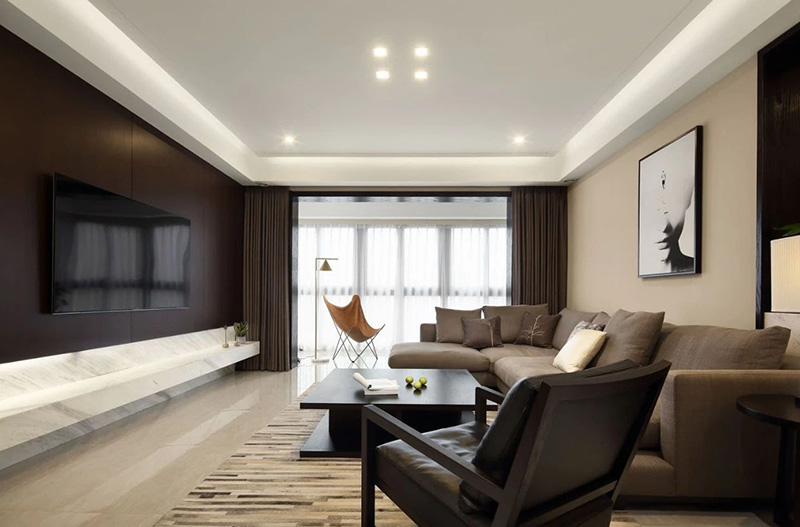 黄山豪庭177㎡|500多万的家,出则繁华,入则静谧