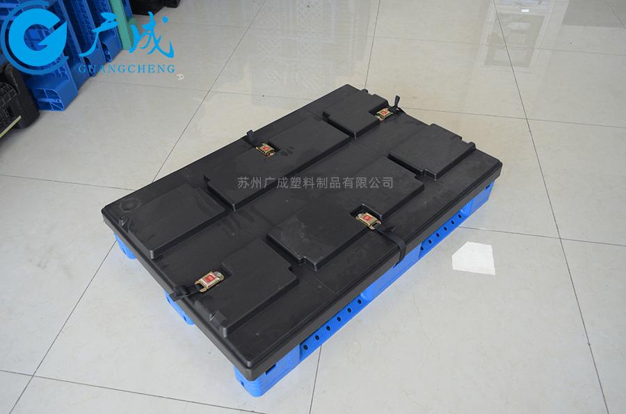 伸縮帶1208網格川字塑料托盤蓋子安裝
