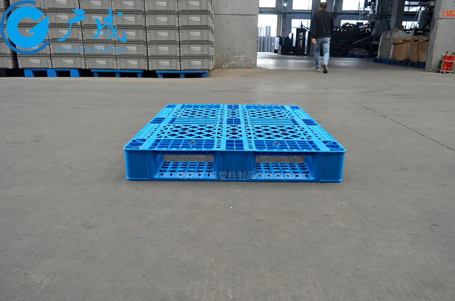 1210網格反川字塑料托盤印字區域