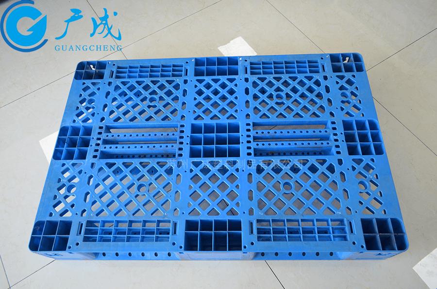 1208網格川字倉庫貨架塑料托盤面部