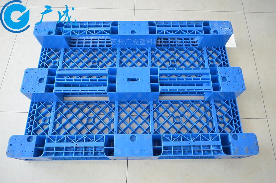 1208網格川字倉庫貨架塑料托盤底部