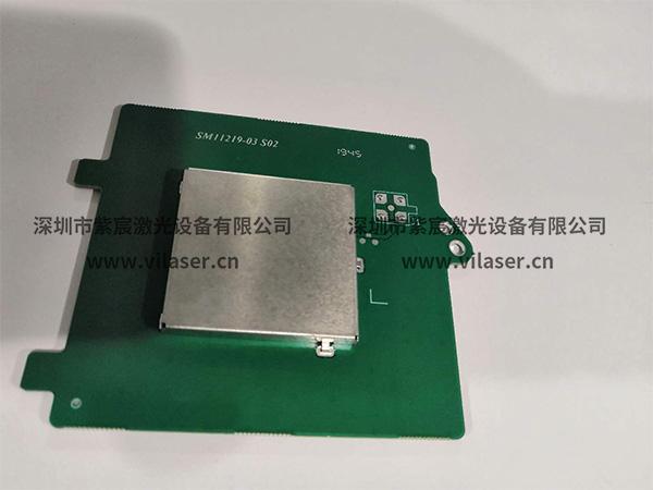 BGA芯片激光锡球焊效果