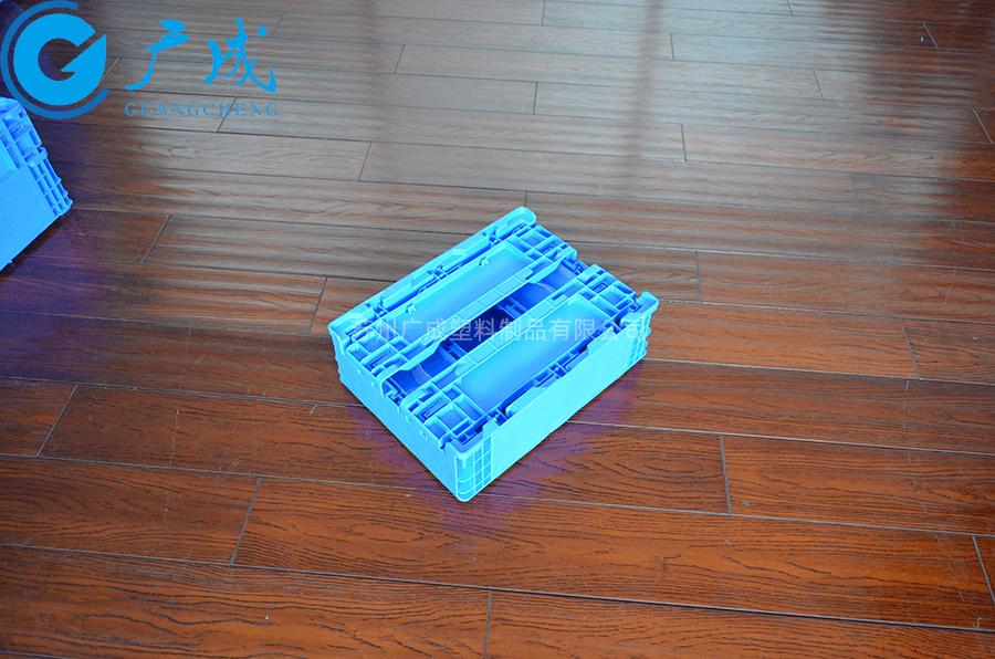 S603高位折疊箱折疊特寫